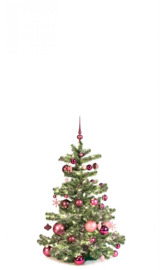120 cm Blanc Paillettes Rose Garland décoration de Noël